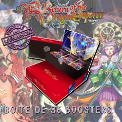 Boite de 36 Boosters Force Of Will L3 - Le Retour de l'Empereur Dragon (FR)