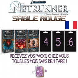 Android: Netrunner Cycle 7 Complet : Sable Rouge