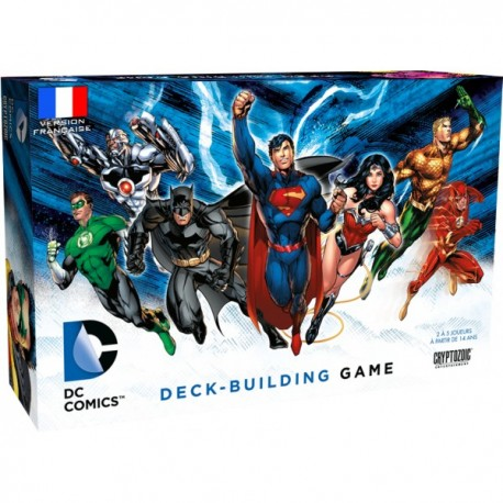 VF DC COMICS - DECK BUILDING