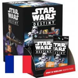 Boite de 36 Boosters Star Wars : Destiny - L'Ame de la Rebellion - Français