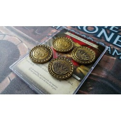 A GAME OF THRONES LCG PREMIUM COINS GOLD