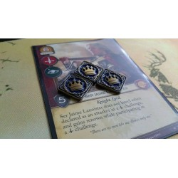A GAME OF THRONES LCG PREMIUM POWER TOKENS GOLD