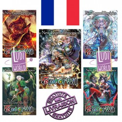 Lot De 5 Deck VF De Démarrage RO - Force of Will TCG