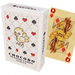 FINAL FANTASY CHOCOBO - Jeu de 52 Cartes