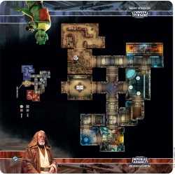 Assaut sur l'empire - Tapis de jeu - Anchorhead Cantina Skirmish Map