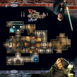 Assaut sur l'empire - Tapis de jeu - Jabba's Palace Skirmish Map