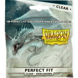 100 Protèges Cartes Perfect Fit Side Load (Slim) Clear
