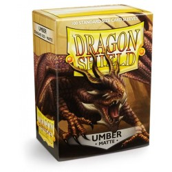 Protèges cartes Dragon Shield - MATTE Umber