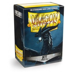 Protèges cartes Dragon Shield - MATTE JET Black