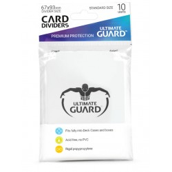 Séparateurs de Cartes Ultimate Guard Blanc