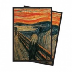 65 Protèges cartes Standard Ultra Pro - The Scream