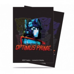 65 Protèges cartes Standard Transformers: Optimus Prime- Ultra Pro
