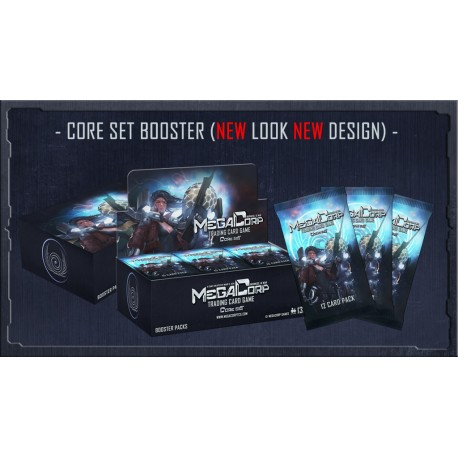 Boite de 27 Boosters de 12 Cartes Mega Corp - Core Set