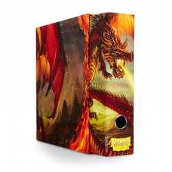 Classeur et fourreau Dragon Shield Red Art Dragon.