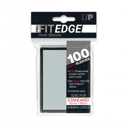 100 Protèges Cartes Pro-Fit Black Edge - Ultra Pro