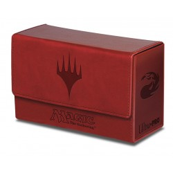DOUBLE Flip Box Red Mana Magic The Gathering - Ultra Pro - Finition Matte