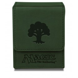 Flip Box Green Mana Magic The Gathering - Ultra Pro - Finition Matte