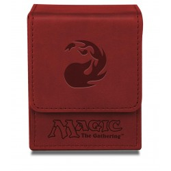 Flip Box Red Mana Magic The Gathering - Ultra Pro - Finition Matte