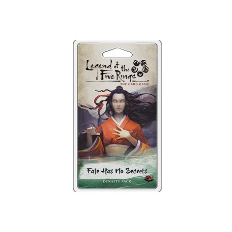 Fate Has No Secrets - Imperial Cycle 1.5 - Legend of the 5 Rings LCG