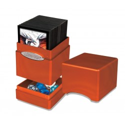 Satin Tower Box Ultra Pro - Hi-Gloss Pumpkin