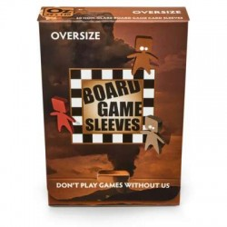 Board Game Sleeves - Oversize (fits cards of 82x124mm)