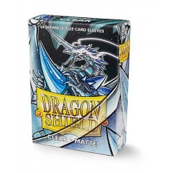 60 Petites Protèges Cartes Taille Jap - Dragon Shield - Matte Clear
