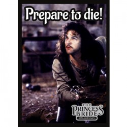 50 Protèges Cartes Legion - Matte Sleeves - Princess Bride: Prepare to Die