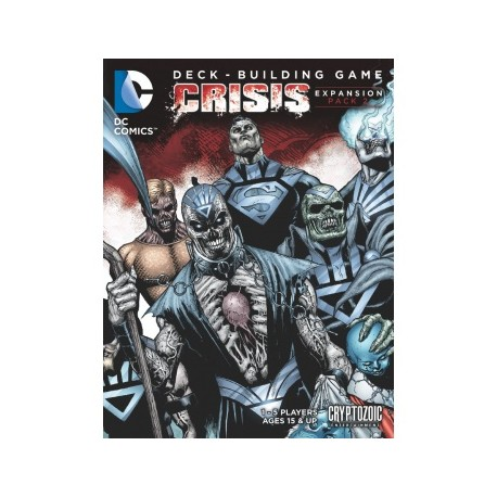 DC Comics Deck Building Game: Crisis Expansion (Pack 2)
