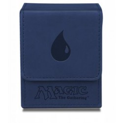 Flip Box Blue Mana Magic The Gathering - Ultra Pro - Finition Matte