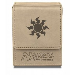 Flip Box White Mana Magic The Gathering - Ultra Pro - Finition Matte