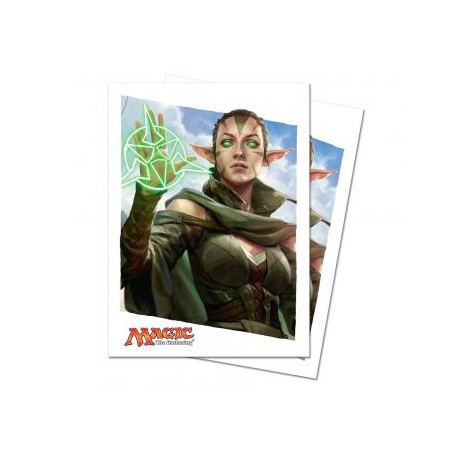 80 Protège-Cartes Magic The Gathering - Oath of the Gatewatch Oath of Nissa