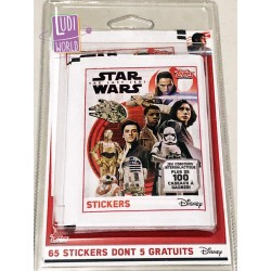 Blister de 12 pochettes (+1 gratuite) - stickers Star Wars Ep 8