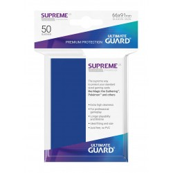 50 Protèges Cartes Supreme UX Sleeves Bleu