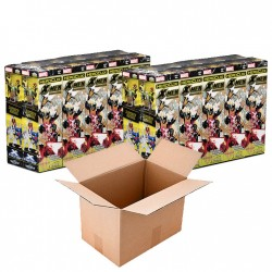 CARTON de 2 Bricks de 10 Boosters de 5 figurines X-Men First Class Booster Brick: Marvel HeroClix