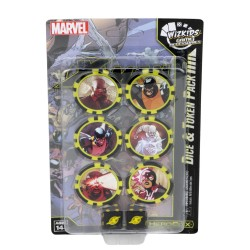 X-Men First Class Time Displaced Dice & Token Pack: Marvel HeroClix