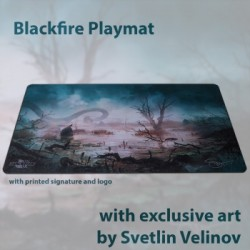 Blackfire Playmat - Svetlin Velinov Edition Swamp - Ultrafine 2mm