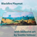 Blackfire Playmat - Svetlin Velinov Edition Plains - Ultrafine 2mm
