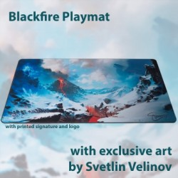 Blackfire Playmat - Svetlin Velinov Edition Mountain - Ultrafine 2mm