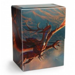 Dragon Shield Deck Shell - Crimson 'Logi' (Limited Edition)