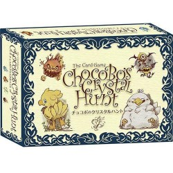 Jeu de cartes Chocobo's Crystal Hunt