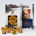 Legend of 5 Rings dice set: Lion Clan