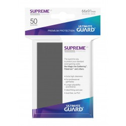 50 Protèges Cartes Supreme UX Sleeves Gris