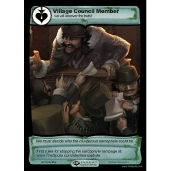 Village Council Member (Insert Sarco 07/08)
