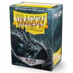 Protèges cartes Dragon Shield - MATTE Slate