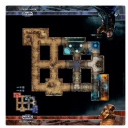 Assaut sur l'empire - Tapis de jeu - Mos Eisley Back Alleys Skirmish Map