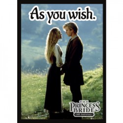 50 Protèges Cartes Legion - Matte Sleeves - Princess Bride: As You Wish