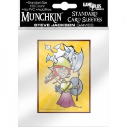 50 Protèges Cartes Munchkin - Flower Card Sleeves