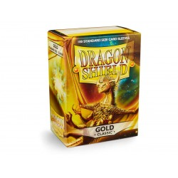 Protèges cartes Dragon Shield - Gold
