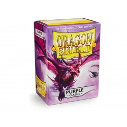 Protèges cartes Dragon Shield - Violet