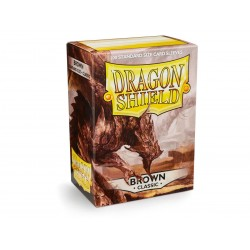 Protèges cartes Dragon Shield - Brown